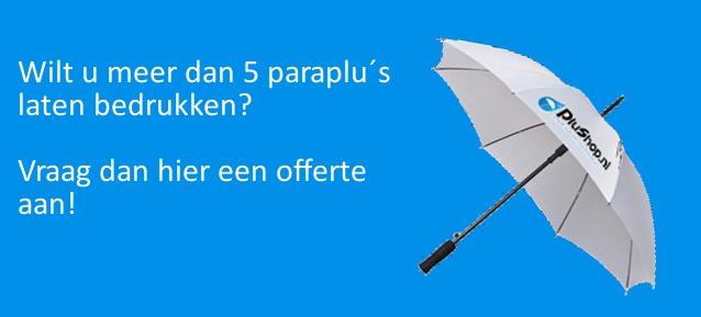 paraplu bedrukken per stuk